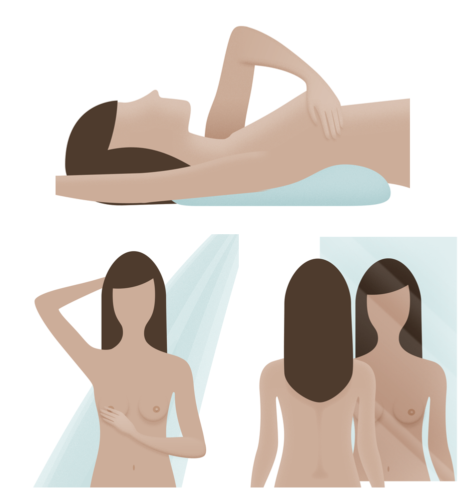 self examination of breast