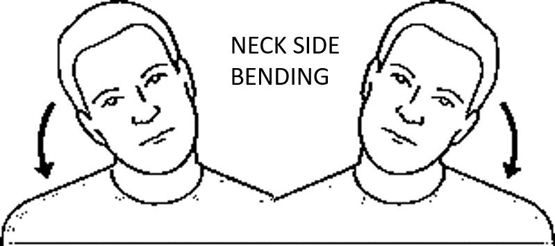 NECK SIE BENDING EXERCISE